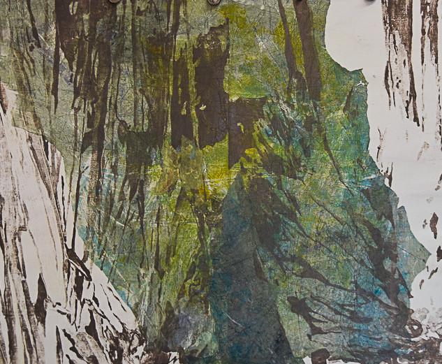 70 x 100 cm, Mokulito, Chine-collé