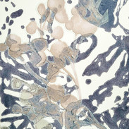18 x 27 cm, Collagrafie, Chine-collé