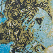 30 x 30 cm, Lithographie