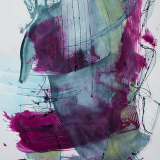 70 x 100 cm, Ink, Hahnemühle
