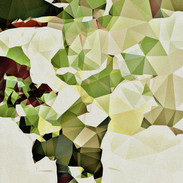 80 x 80 cm, Digital-Malerei