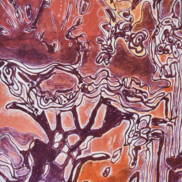 70 x 100 cm, Carborundum