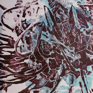 60 x 80 cm, Mokulito, Chine-collé