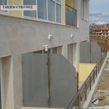 Преграждане на тераси
