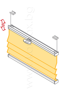Римски щори модел Елеганте ВВ 15