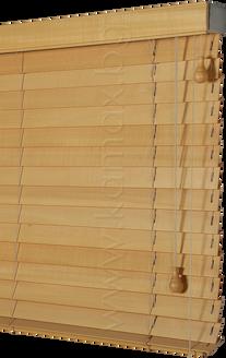 50 мм Дървени Хоризонтални