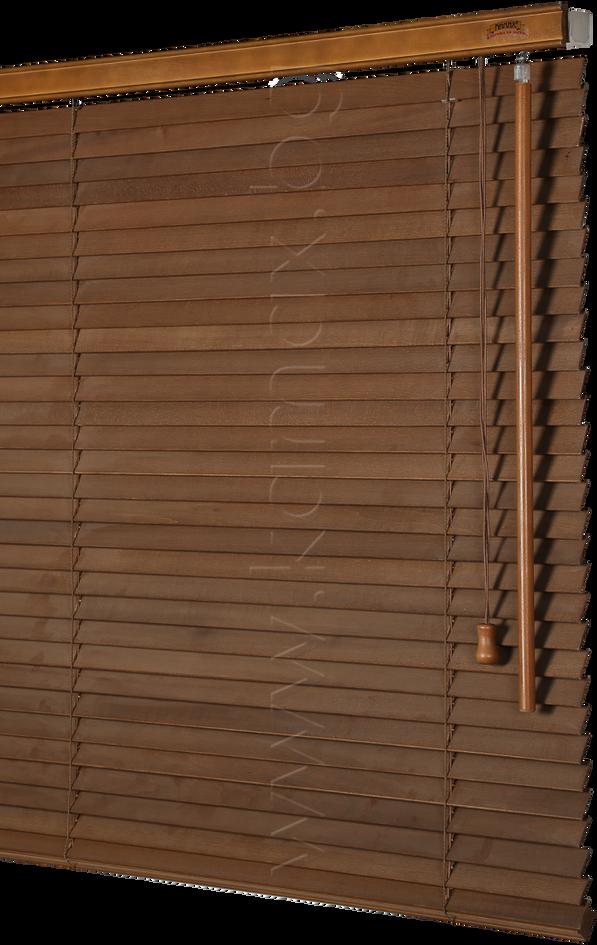 25 мм Дървени Хоризонтални