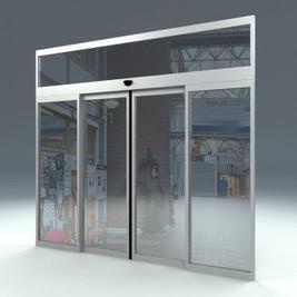 Стъклени плъзгащи врати