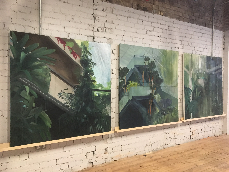 Barbican paintings