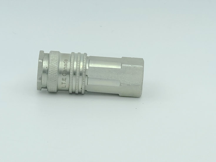 Quickconnect hose fitting high flow
