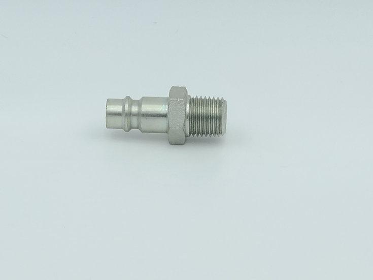 Plug hose fitting high flow