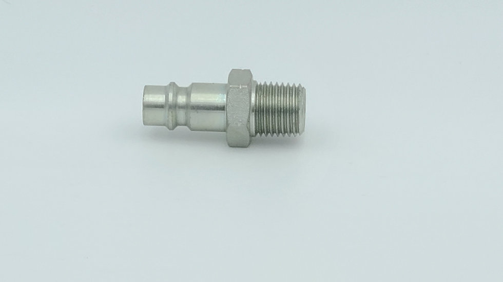 Plug hose fitting high flow