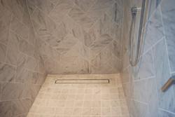 Curbless Shower