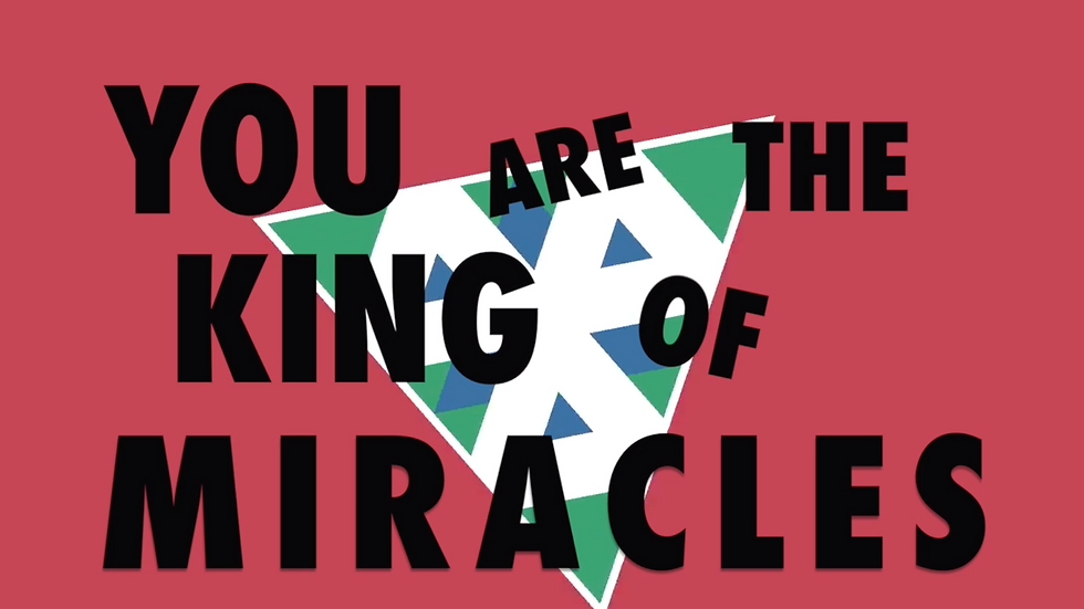 King of Miracles - Lyric Video