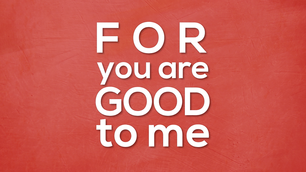 You Are Good to Me - Lyric Video