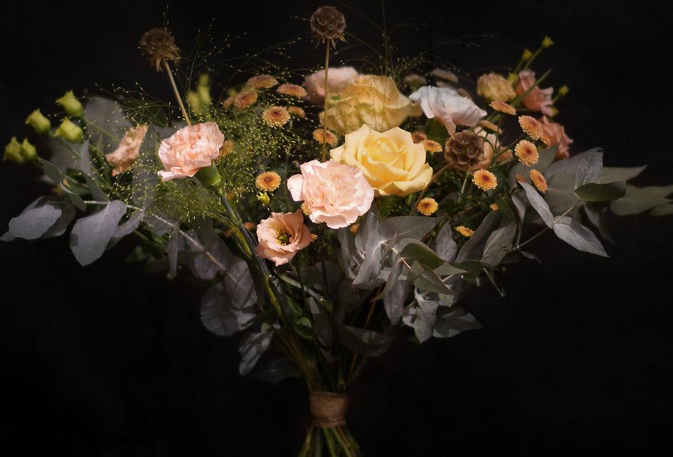 En Blomstrande Kram Bukett