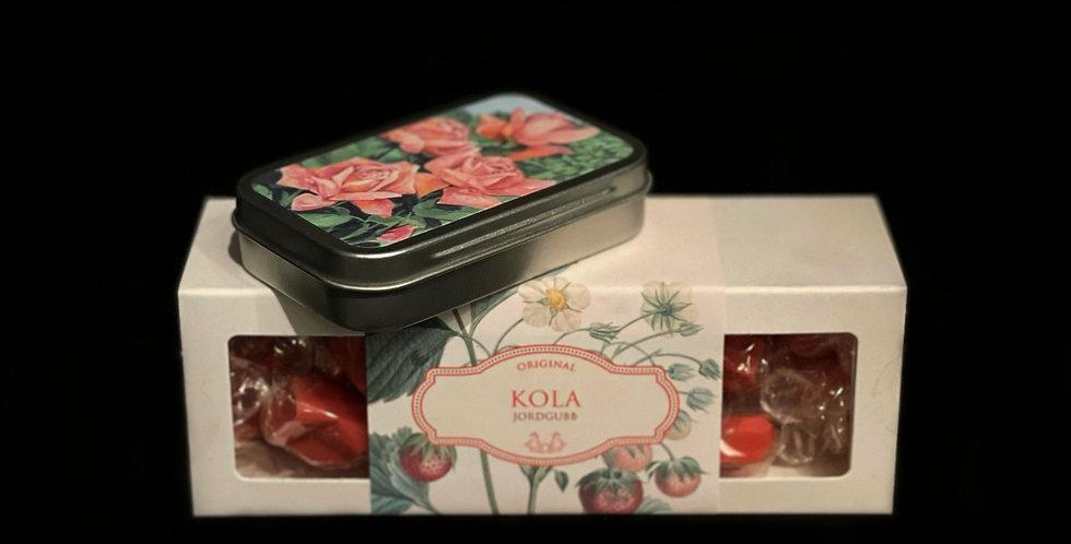 Kola & Pastiller Jordgubb/Smultron från Sköna Ting