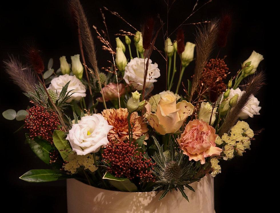 Blomsterbox Stor Ljusa toner