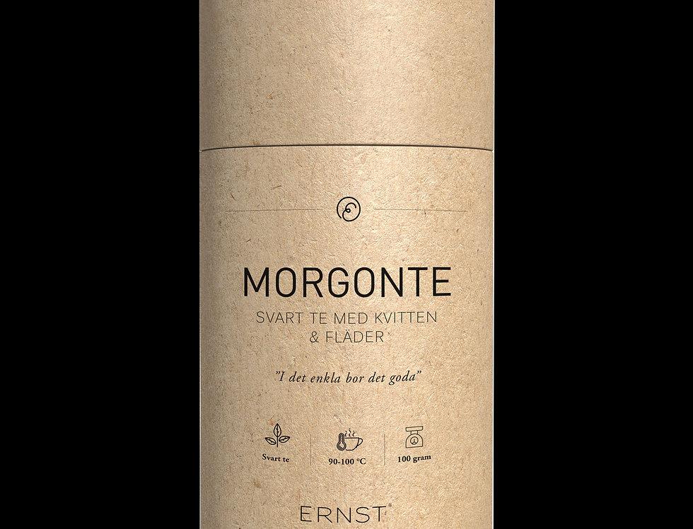 Ernst Morgonte Svart te med kvitten & fläder
