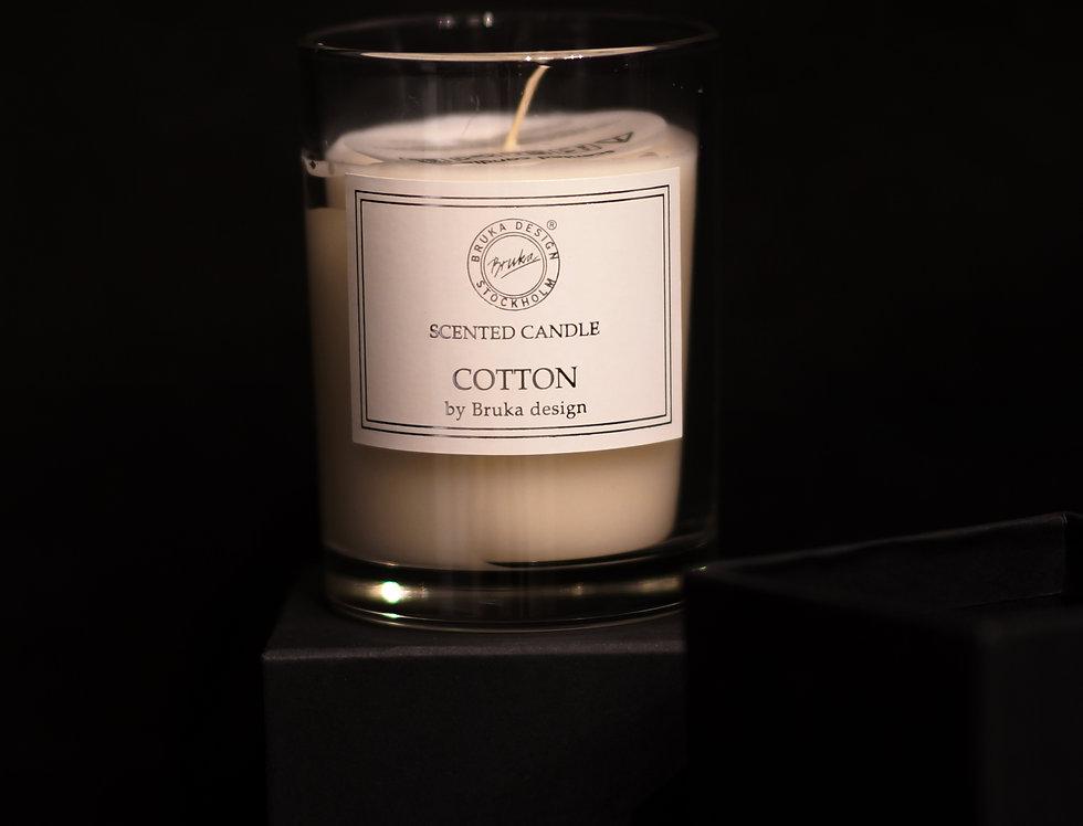 Doftljus Cotton Bruka Design