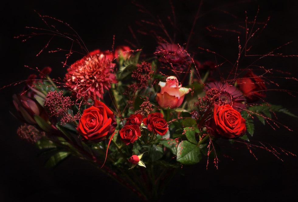 Blomstrande kärlek Bukett