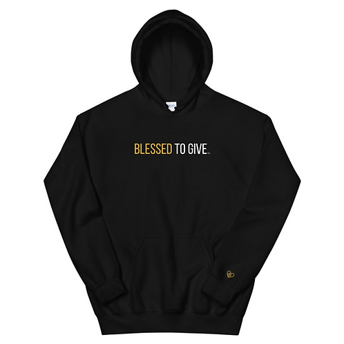 Blessed To Give Hoodie