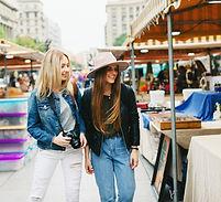 marché en plein air