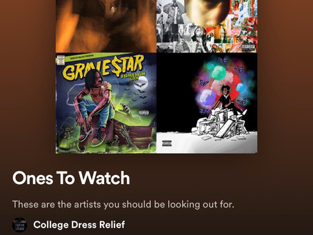 College Dress Relief's Spotify