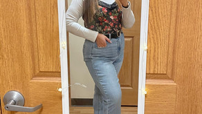 Thrifted Valentine's Outfit