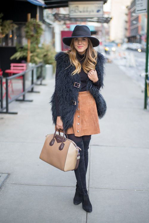 A colder weather look