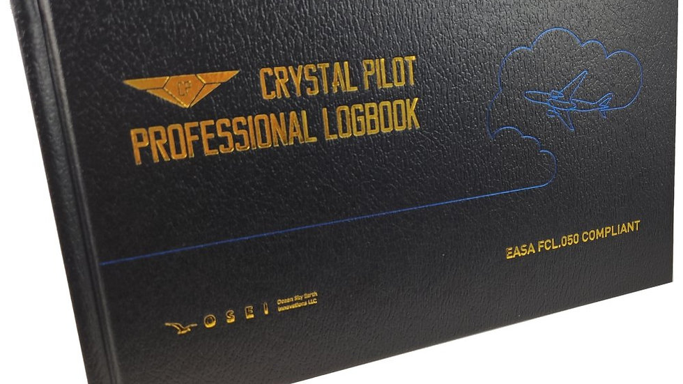 EASA FCL.050 Compliant Professional Logbook