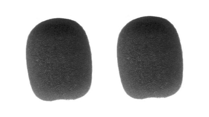 Two (2) Replacement windscreens for for Bose A20 and Crystal Mic Typhoon headset