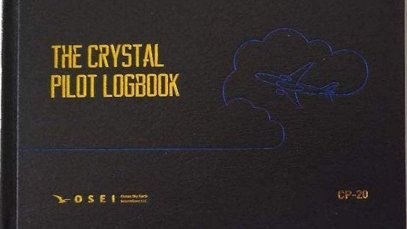 Crystal Pilot Log Book (with 2020 IFR-VFR A5 Placard)
