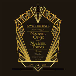Sample save the date post card