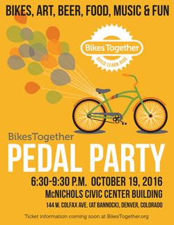 Flier for Denver's BikesTogether