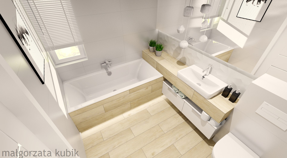 Łazienka na piętrze_