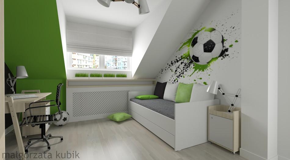 Pokój wielbiciela piłki nożnej