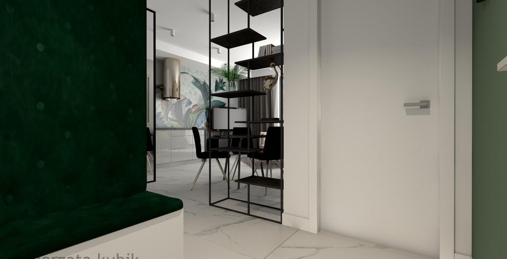 Mieszkanie z akcentem zieleni