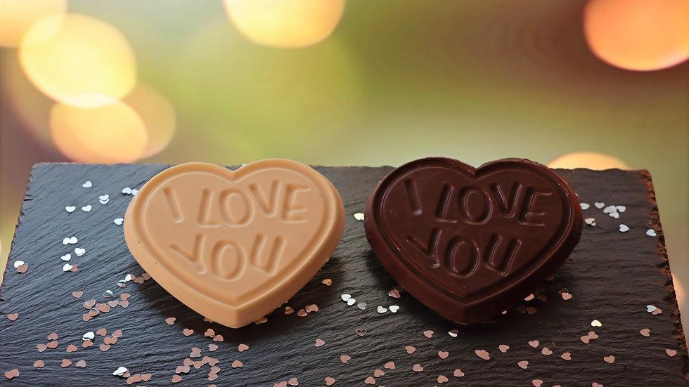Chocolate I Love You Heart