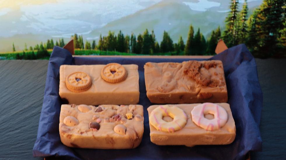 Set of 4 Mixed Fudge Slabs