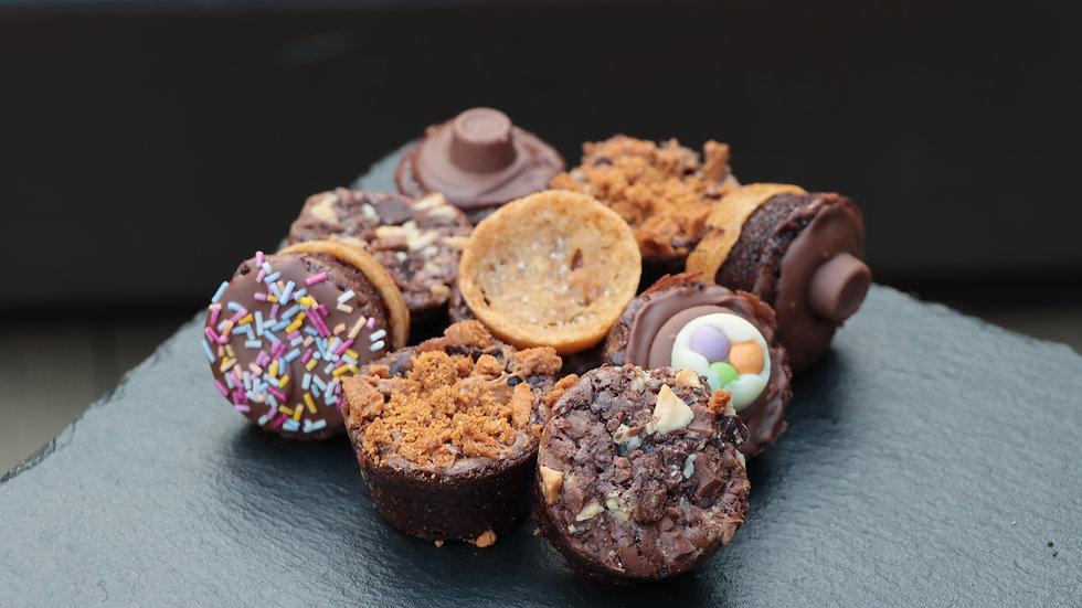 Mini Brownie Cups