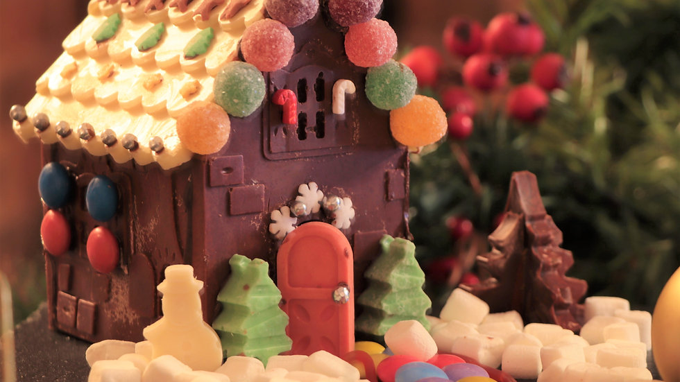 Chocolate Gingerbread House Kit