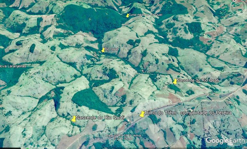 Vista aérea de Nova Laranjeiras