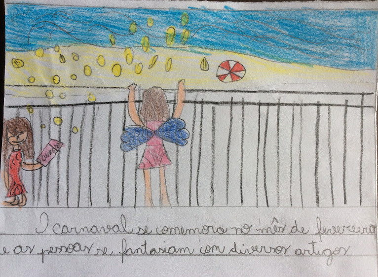 Carnaval na praia, Giovanna