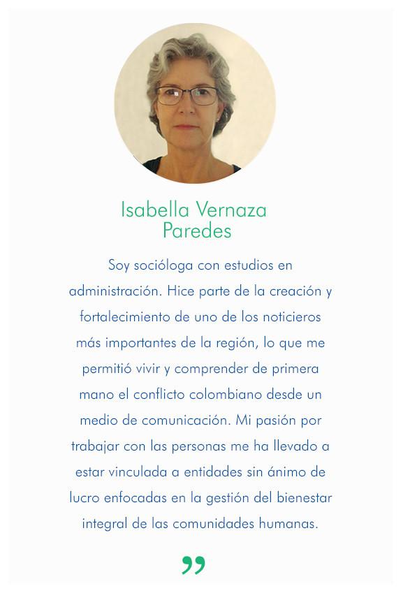 Isabella Vernaza Paredes