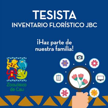 INVENTARIO FLORÍSTICO JBC