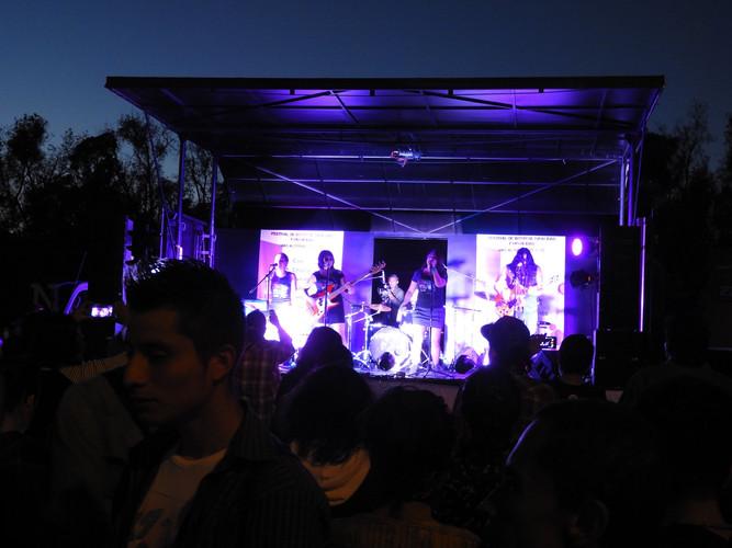 Concierto cierre festival