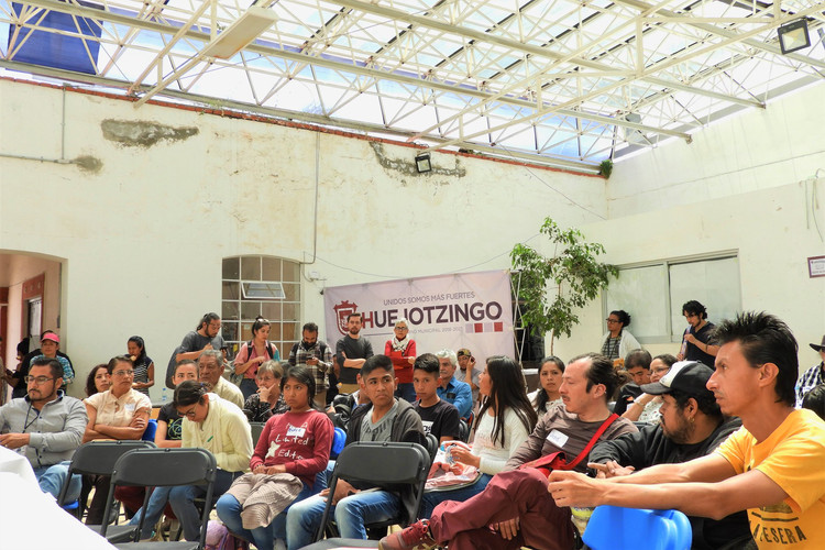 Encuentro de colectinos regional Puebla