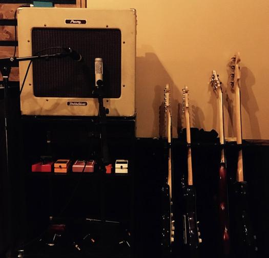 le coin du guitariste !
