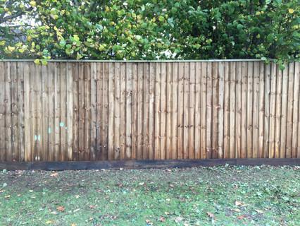 Close Board Fence.